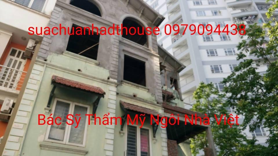 Báo giá sửa chữa nhà Hà Nội, sửa chữa nhà, sửa nhà